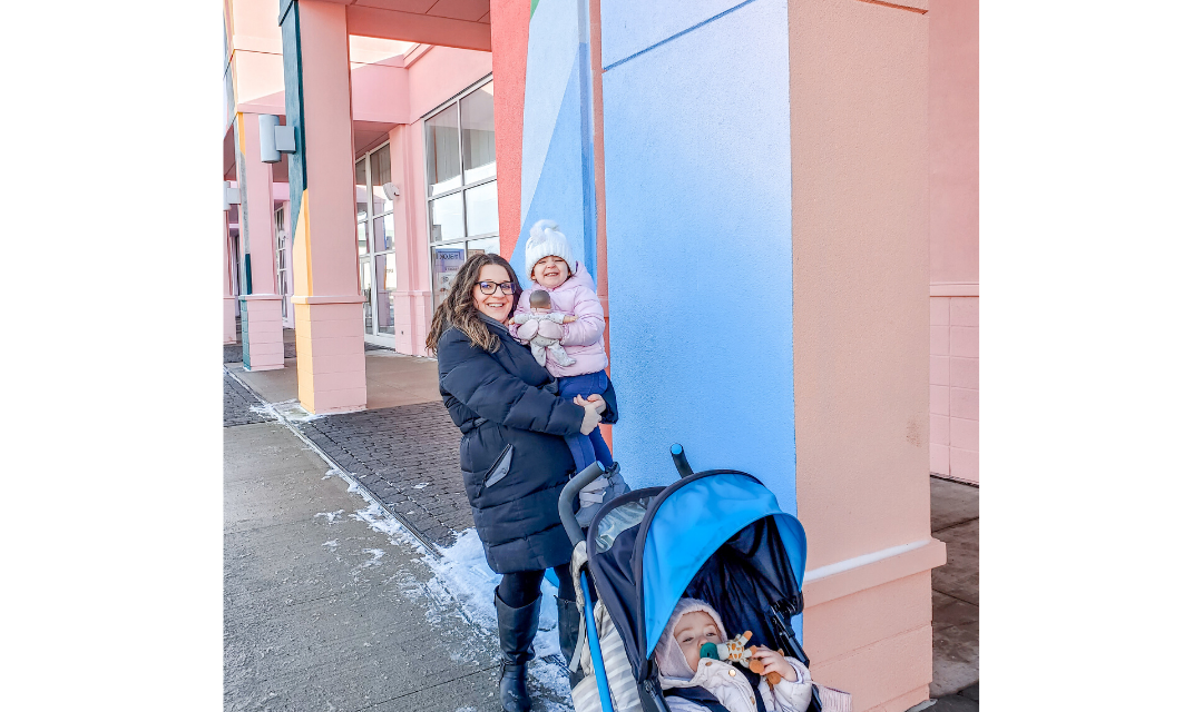 Holiday shopping with toddlers at QuartierDIX30 – THE BLOK